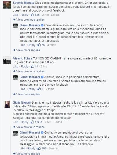 L'#epicfail di Gianni Morandi